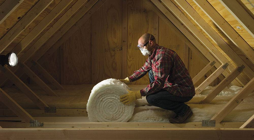 Reduce home energy loss with insulation